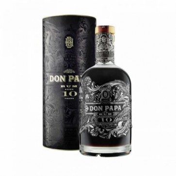 Rum Don Papa 10 Age in AOK 70 cl Filippino ASTUCCIO
