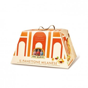Panettone Milanese TRE MARIE basso 1000g